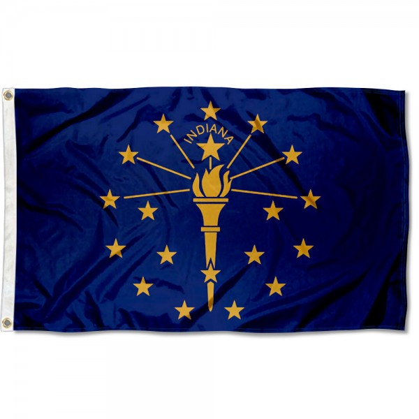 State of Indiana 3x5 Foot Flag