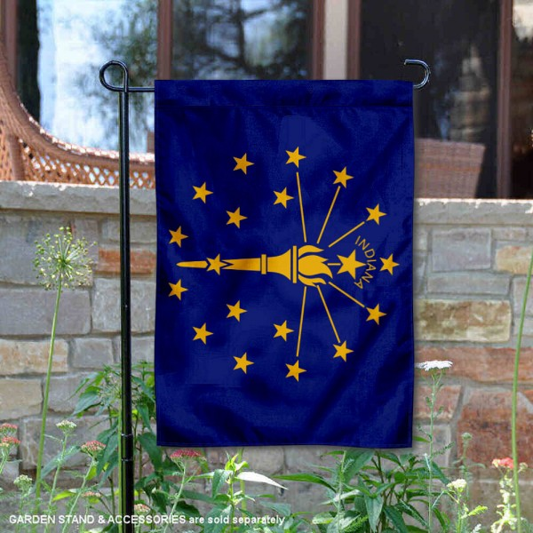 State of Indiana Yard Garden Banner