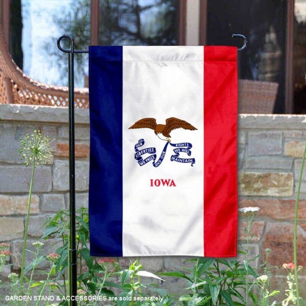 State of Iowa Yard Garden Banner