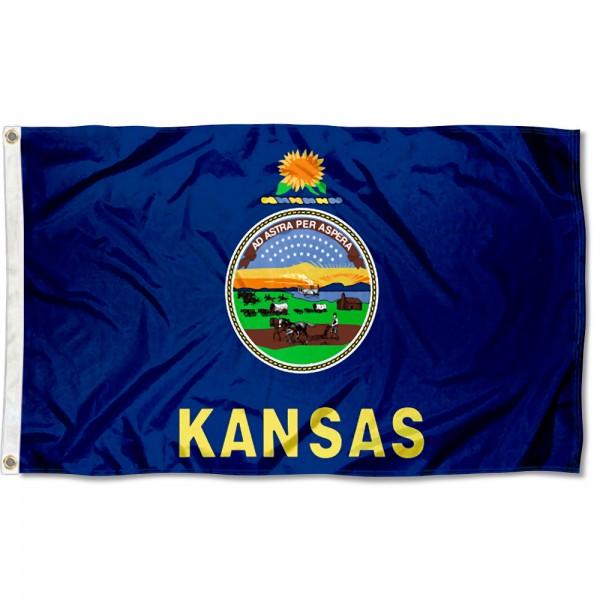 State of Kansas 3x5 Foot Flag