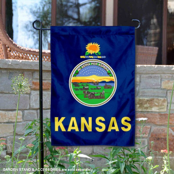 State of Kansas Yard Garden Banner