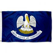 State of Louisiana 3x5 Foot Flag