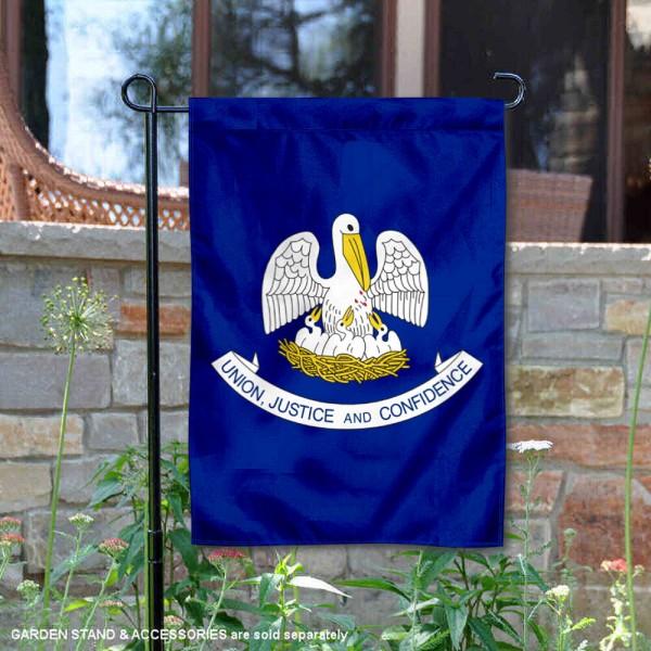 State of Louisiana Yard Garden Banner