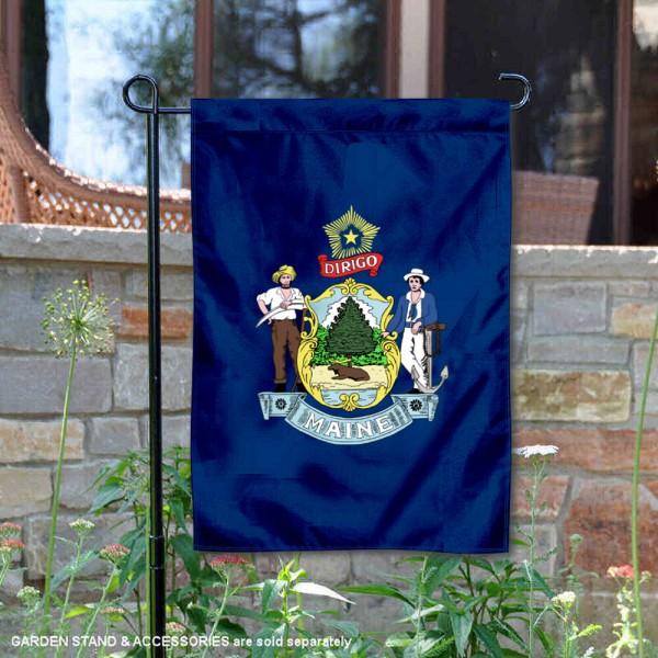 State of Maine Yard Garden Banner
