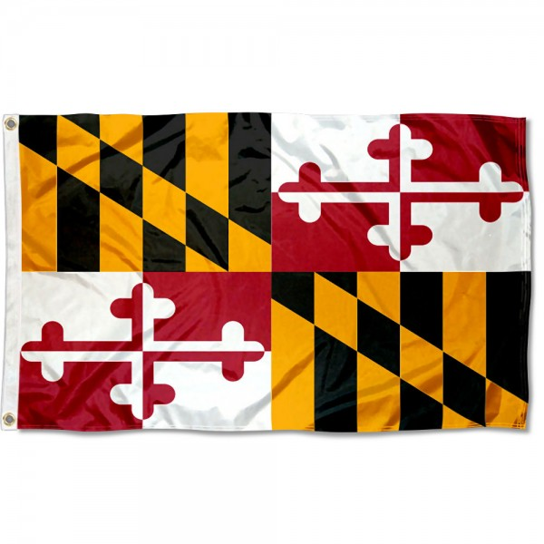 State of Maryland 3x5 Foot Flag