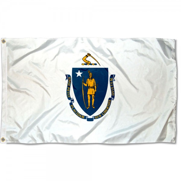 State of Massachusetts 3x5 Foot Flag