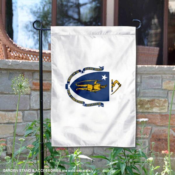 State of Massachusetts Yard Garden Banner