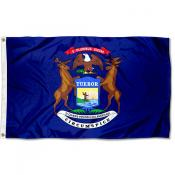 State of Michigan 3x5 Foot Flag
