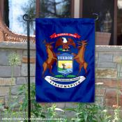 State of Michigan Yard Garden Banner