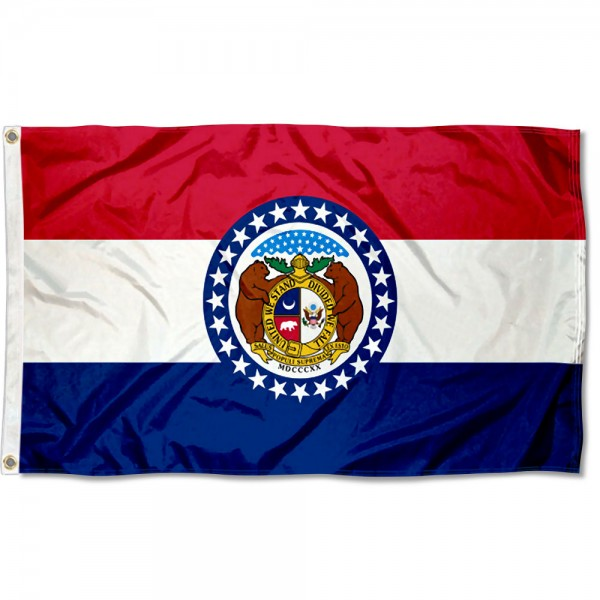 State of Missouri 3x5 Foot Flag