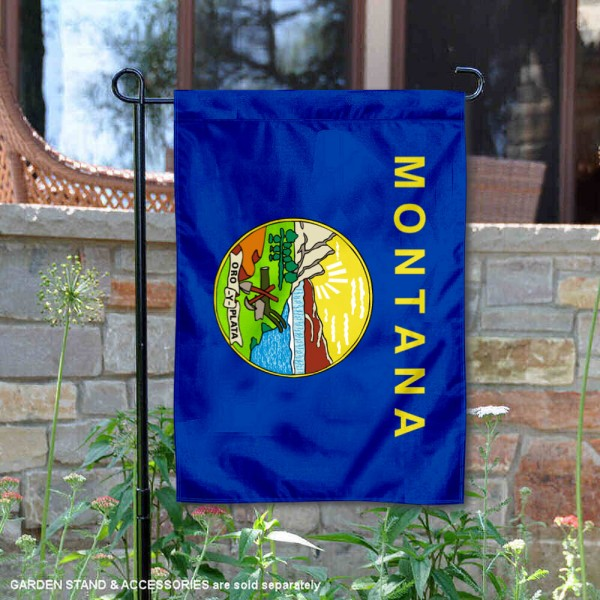 State of Montana Yard Garden Banner