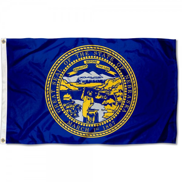 State of Nebraska 3x5 Foot Flag