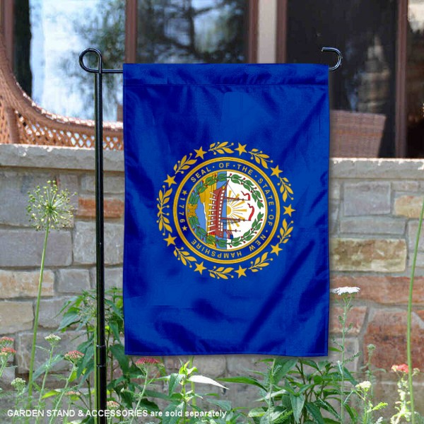 State of New Hampshire Yard Garden Banner