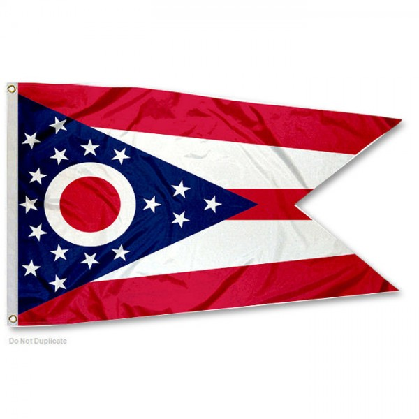 State of Ohio 3x5 Foot Flag