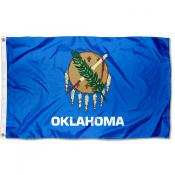 State of Oklahoma 3x5 Foot Flag