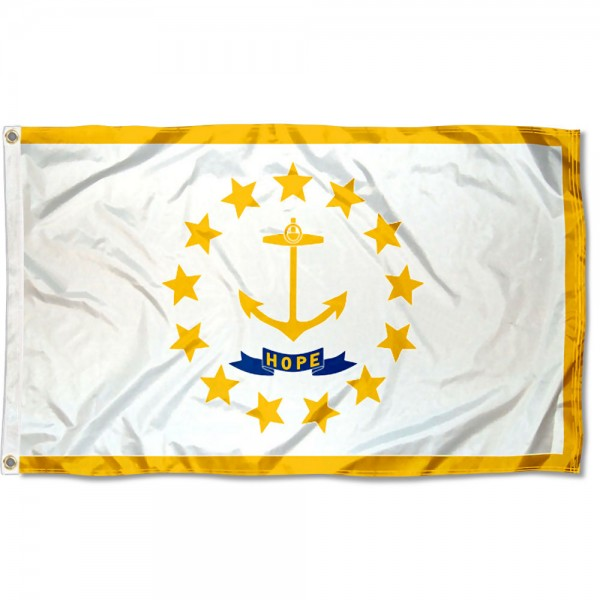 State of Rhode Island 3x5 Foot Flag