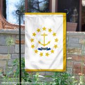 State of Rhode Island Yard Garden Banner