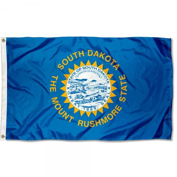 State of South Dakota 3x5 Foot Flag