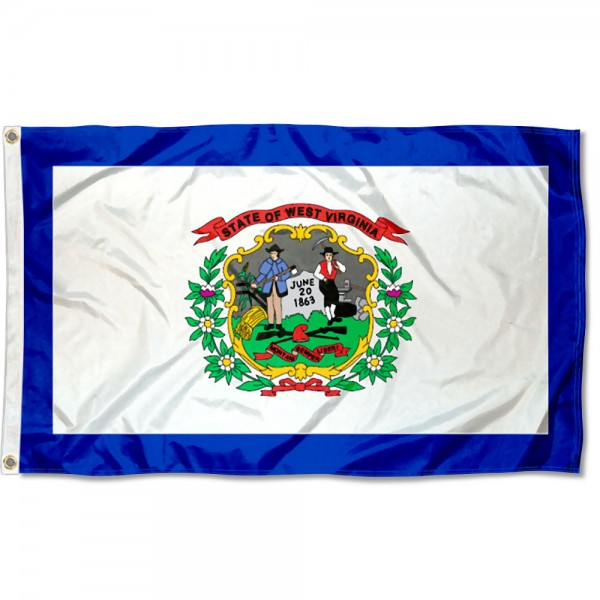 State of West Virginia 3x5 Foot Flag