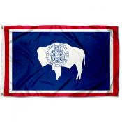 State of Wyoming 3x5 Foot Flag