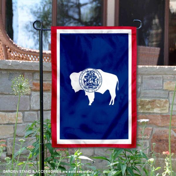 State of Wyoming Yard Garden Banner