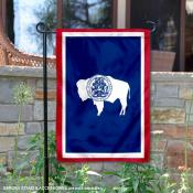 State of Wyoming Yard Garden Banner