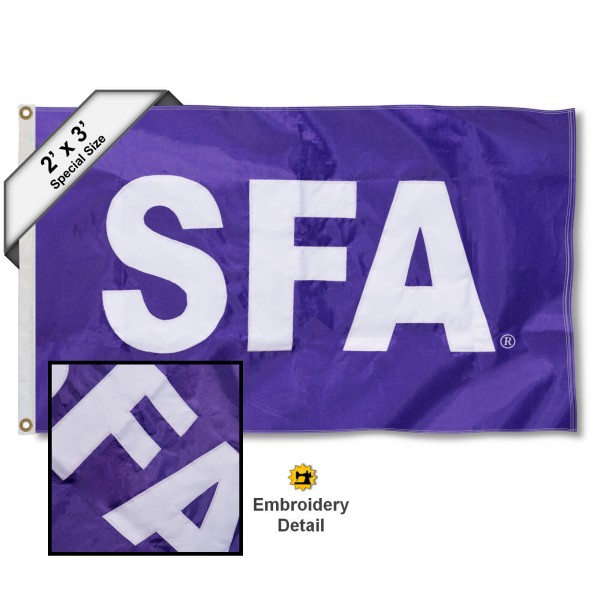 Stephen F. Austin Lumberjacks 2x3 Flag