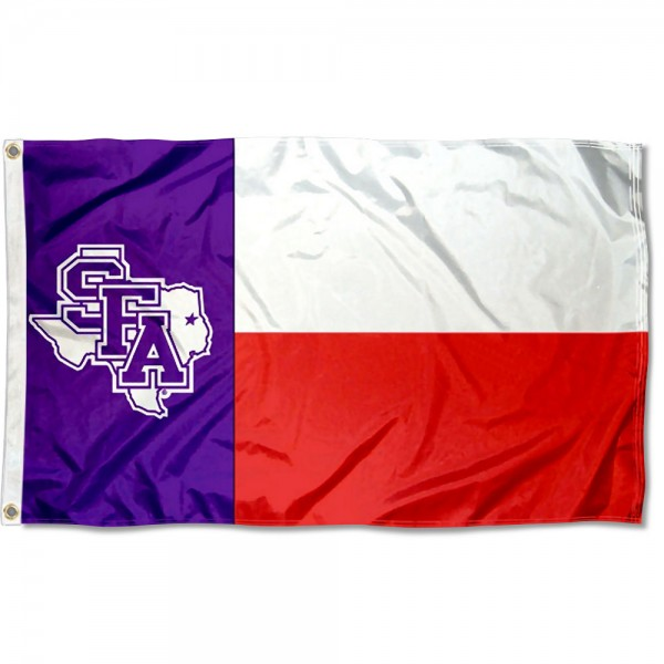 Stephen F. Austin University State of Texas Flag