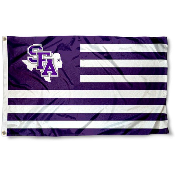 Stephen F Austin Lumberjacks Nation Flag