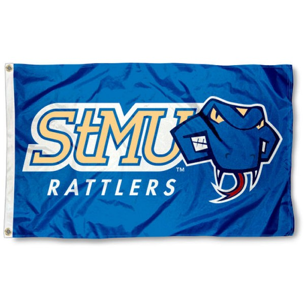 StMU Rattlers 3x5 Foot Flag