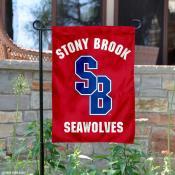 Stony Brook Seawolves Red Garden Flag