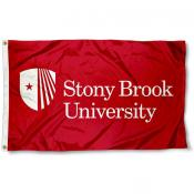 Stony Brook University Wordmark Logo Flag