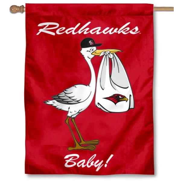 SU Redhawks New Baby Banner