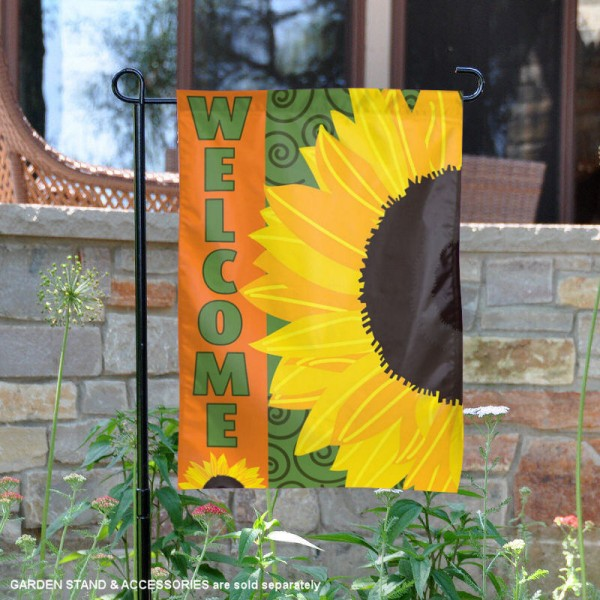 Sunflower Design Garden Banner