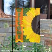 Sunflower Design Garden Banner