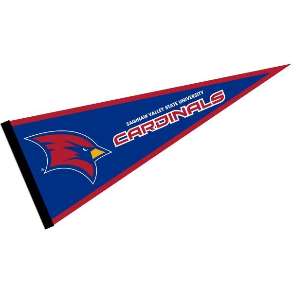 SVSU Cardinals Pennant