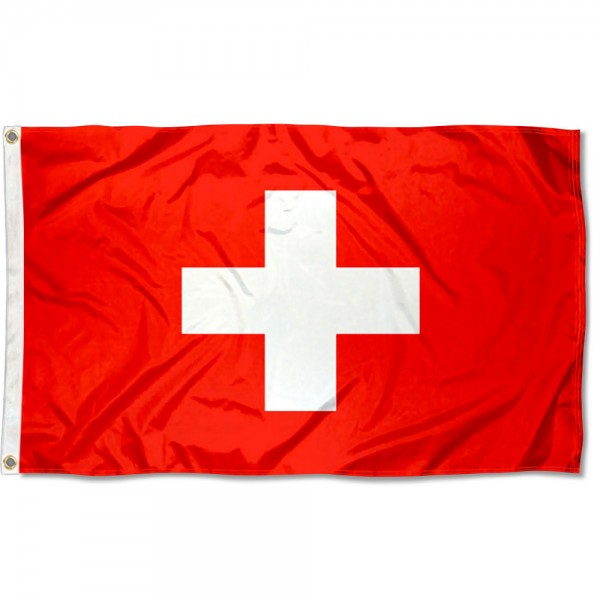 Switzerland Country 3x5 Polyester Flag