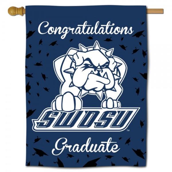 SWOSU Bulldogs Graduation Banner