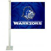 SWU Warriors Logo Car Flag