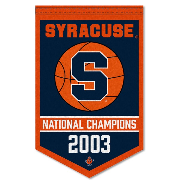 Syracuse College Basketball National Champions Banner