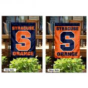 Syracuse Orange and Blue Garden Flag
