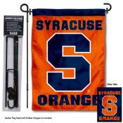 Syracuse Orange Garden Flag and Holder