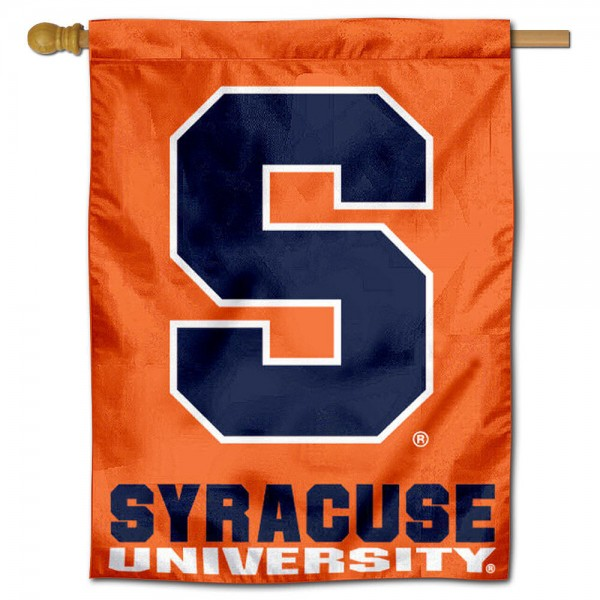 Syracuse Orange House Flag