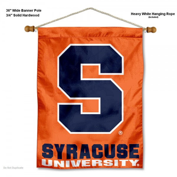 Syracuse Orange Wall Hanging