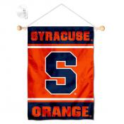 Syracuse Orange Window Hanging Banner with Suction Cup