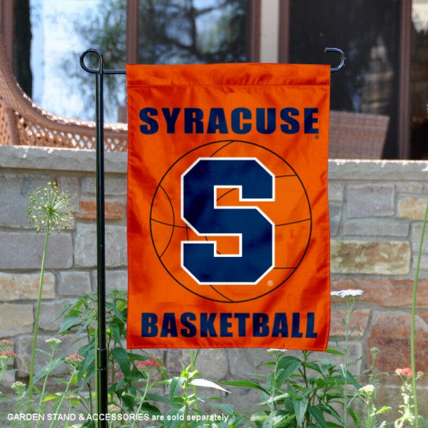 Syracuse University Basketball Garden Flag
