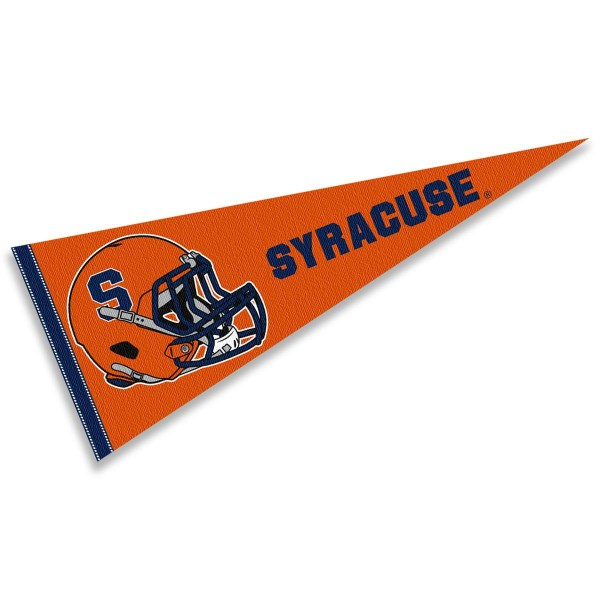 Syracuse University Football Helmet Pennant