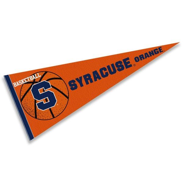 Syracuse University Orange Basketball Pennant