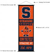 Syracuse Wall Banner and Door Scroll
