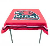 Tablecloth for MU Redhawks